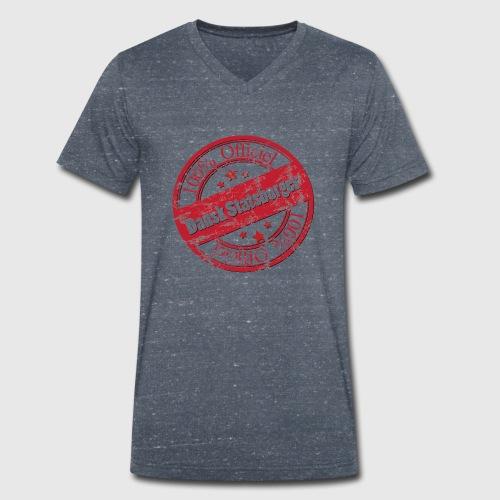 OFFICIAL DANE a png - Økologisk Stanley & Stella T-shirt med V-udskæring til herrer