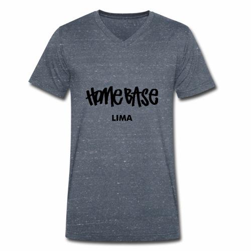 Home City Lima - Männer Bio-T-Shirt mit V-Ausschnitt von Stanley & Stella