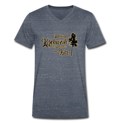 Herlheim Kirchweih - Männer Bio-T-Shirt mit V-Ausschnitt von Stanley & Stella