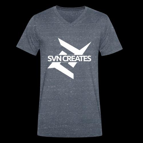 SVN Shirt logo 1 png - Mannen bio T-shirt met V-hals van Stanley & Stella