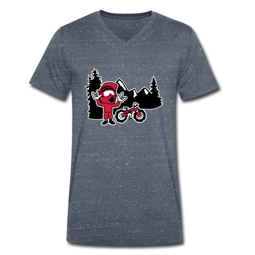 Freerider - Männer Bio-T-Shirt mit V-Ausschnitt von Stanley & Stella