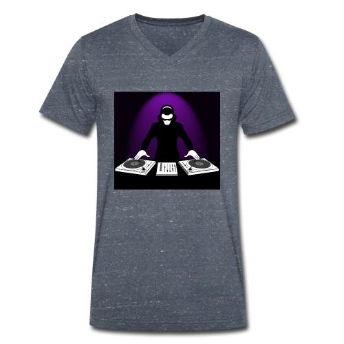 DJ Rojbin - Ekologisk T-shirt med V-ringning herr från Stanley & Stella