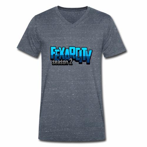 Logo FexarCityS2 - T-shirt ecologica da uomo con scollo a V di Stanley & Stella