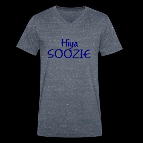 Hiya SOOZIE - Men's Organic V-Neck T-Shirt by Stanley & Stella