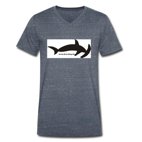 Hammerhai - Männer Bio-T-Shirt mit V-Ausschnitt von Stanley & Stella