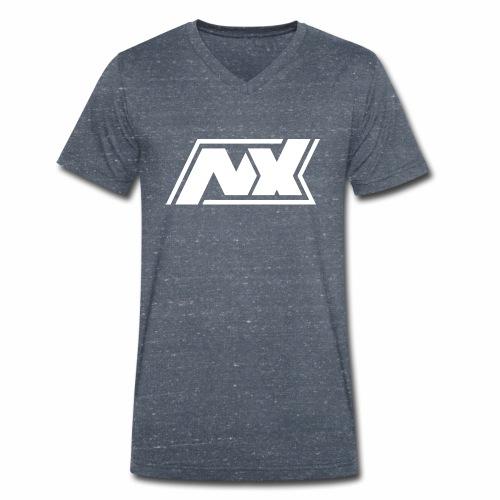 Nx Männer T-Shirt - Männer Bio-T-Shirt mit V-Ausschnitt von Stanley & Stella