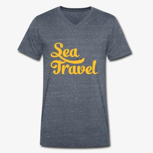 sea travel - T-shirt bio col V Stanley & Stella Homme
