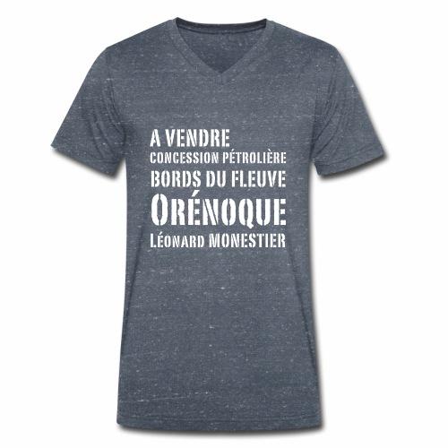 Une concession dans l'Orénoque ! - T-shirt bio col V Stanley & Stella Homme