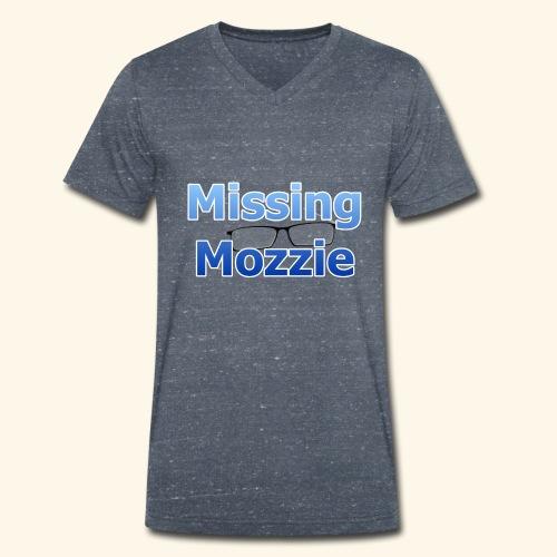 Missing Mozzie - Men's Organic V-Neck T-Shirt by Stanley & Stella