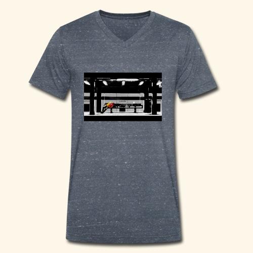 Riposo a Broadway - T-shirt ecologica da uomo con scollo a V di Stanley & Stella