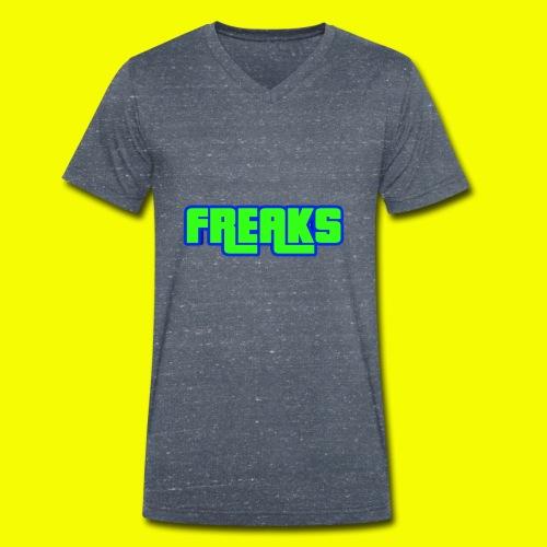 YOU FREAKS - Männer Bio-T-Shirt mit V-Ausschnitt von Stanley & Stella