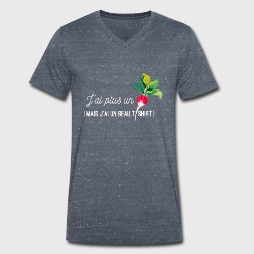 J'ai plus un radis - T-shirt bio col V Stanley & Stella Homme