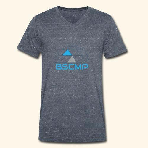 BSCMP - Mannen bio T-shirt met V-hals van Stanley & Stella
