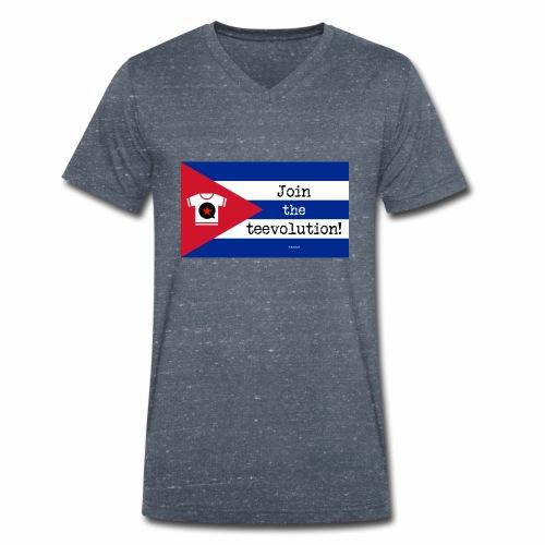 Tee Guevara - Mannen bio T-shirt met V-hals van Stanley & Stella