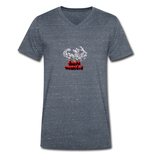 Pure Muscle BestFitness - Camiseta ecológica hombre con cuello de pico de Stanley & Stella