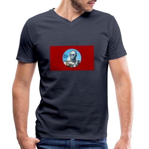 Match 2.0 - Ekologisk T-shirt med V-ringning herr från Stanley & Stella