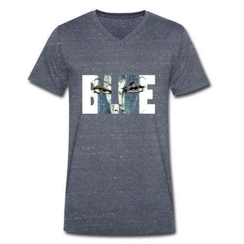 BLUE001 - Männer Bio-T-Shirt mit V-Ausschnitt von Stanley & Stella