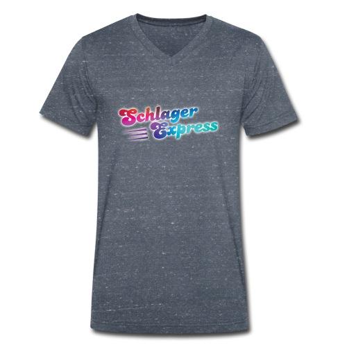 SchlagerExpress - Die Liveband - Männer Bio-T-Shirt mit V-Ausschnitt von Stanley & Stella