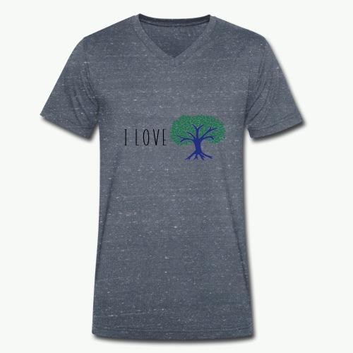Plus d'arbre, plus de vie ! - T-shirt bio col V Stanley & Stella Homme