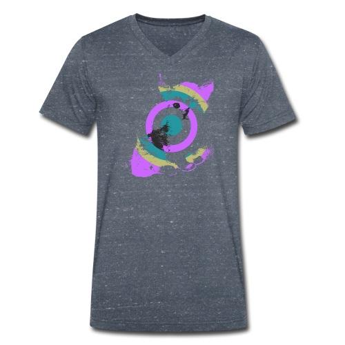 Kitten - Mannen bio T-shirt met V-hals van Stanley & Stella