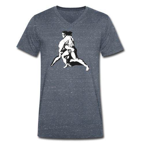 Schwinger - Männer Bio-T-Shirt mit V-Ausschnitt von Stanley & Stella