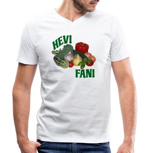 Hevi-fani - Stanley & Stellan miesten luomupikeepaita