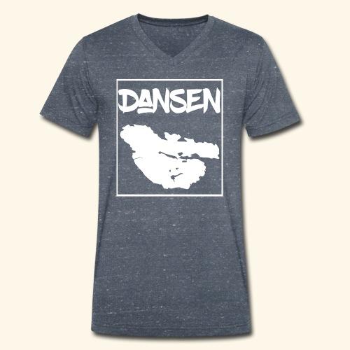 DansenKartaVit - Ekologisk T-shirt med V-ringning herr från Stanley & Stella