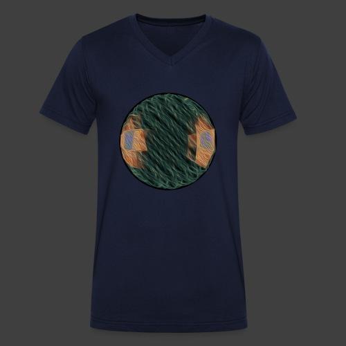 Ball - Men's Organic V-Neck T-Shirt by Stanley & Stella