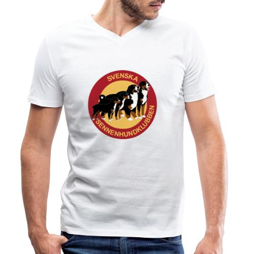 Sennenhundklubben - Ekologisk T-shirt med V-ringning herr från Stanley & Stella