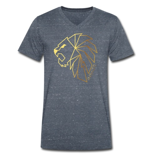 Löwe, Lion Inside - Männer Bio-T-Shirt mit V-Ausschnitt von Stanley & Stella