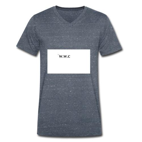 White Wolf Clothing - Økologisk Stanley & Stella T-shirt med V-udskæring til herrer