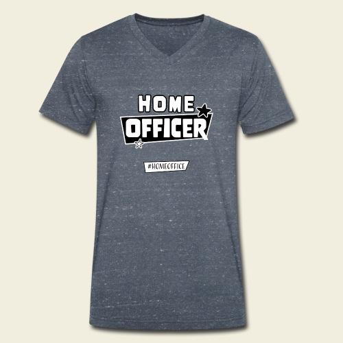 Home Officer - Männer Bio-T-Shirt mit V-Ausschnitt von Stanley & Stella