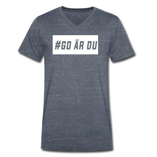 #go är du - Ekologisk T-shirt med V-ringning herr från Stanley & Stella