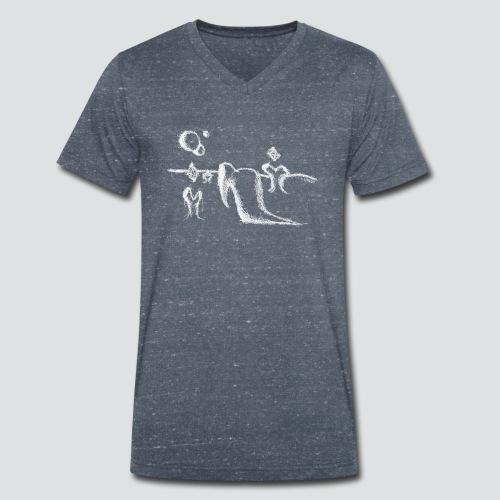 Labuversum png - Männer Bio-T-Shirt mit V-Ausschnitt von Stanley & Stella