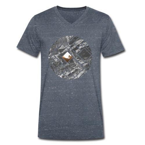 Felsklettern Bouldern Grafisches Design - Männer Bio-T-Shirt mit V-Ausschnitt von Stanley & Stella