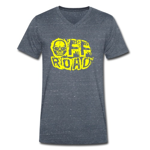 11A-12 OFF ROAD SKULL Textiles and gift products - Stanley & Stellan miesten luomupikeepaita
