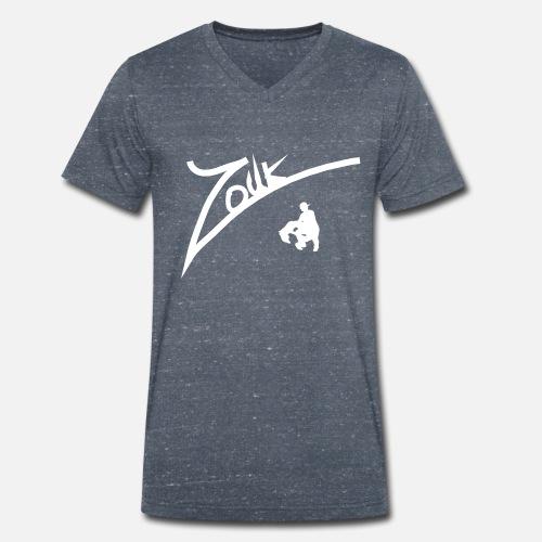 Cambre Zouk - Männer Bio-T-Shirt mit V-Ausschnitt von Stanley & Stella