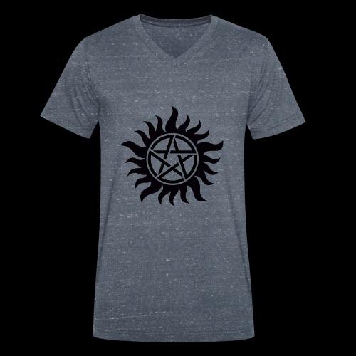 Supernatural Anti Possession - T-shirt bio col V Stanley & Stella Homme
