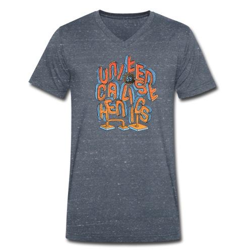 United Calisthenics - Mannen bio T-shirt met V-hals van Stanley & Stella