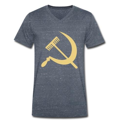Falce e rastrello, sickle and rake! - T-shirt ecologica da uomo con scollo a V di Stanley & Stella