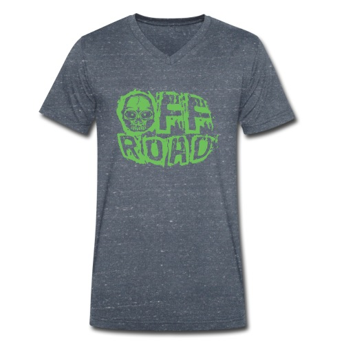 11A-13 OFF ROAD SKULL Textiles and gift products - Stanley & Stellan miesten luomupikeepaita