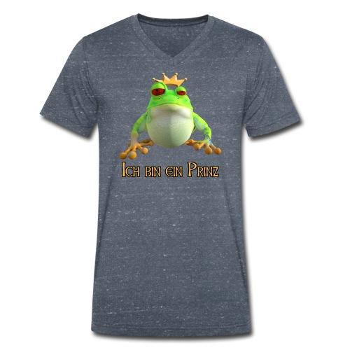 Ich bin ein Prinz - Männer Bio-T-Shirt mit V-Ausschnitt von Stanley & Stella