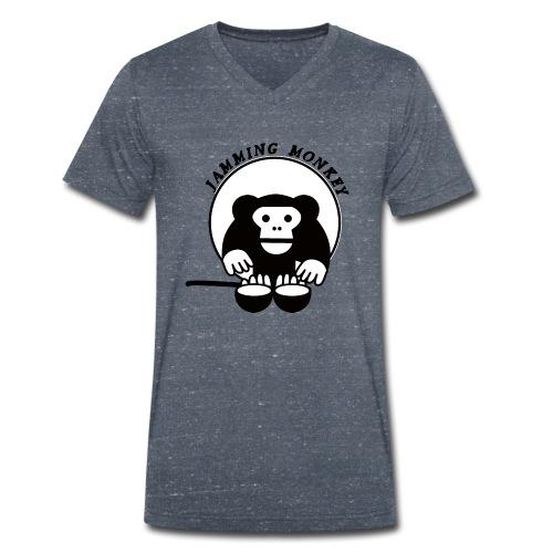 Jamming Monkey - T-shirt bio col V Stanley & Stella Homme