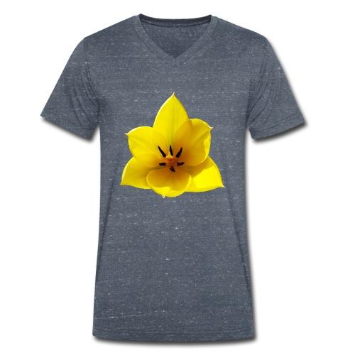 TIAN GREEN Garten - Tulpe 2020 02 - Männer Bio-T-Shirt mit V-Ausschnitt von Stanley & Stella