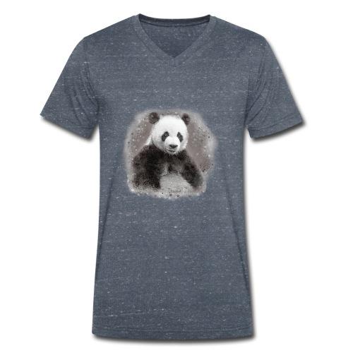 Panda - T-shirt bio col V Stanley & Stella Homme