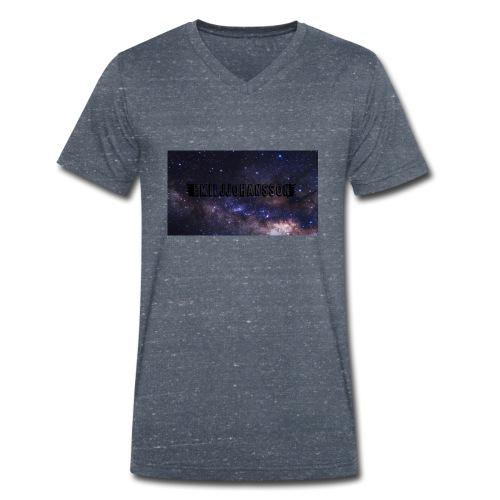 EMILJJOHANSSON - Ekologisk T-shirt med V-ringning herr från Stanley & Stella