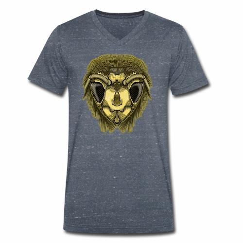 Half-Bee by Jon Ball - Men's Organic V-Neck T-Shirt by Stanley & Stella
