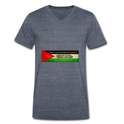 The Palestinian Mole - Men's Organic V-Neck T-Shirt by Stanley & Stella