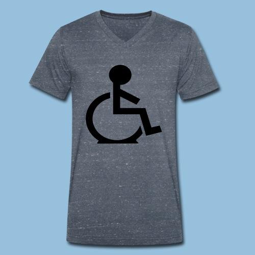 Flattyre1 - Mannen bio T-shirt met V-hals van Stanley & Stella