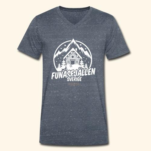 Funäsfjällen Sverige Ski resort T Shirt Design - Männer Bio-T-Shirt mit V-Ausschnitt von Stanley & Stella